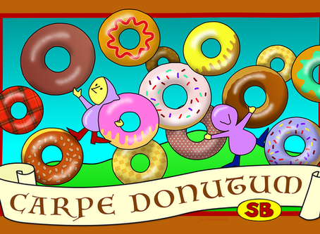 Enjoy our flying donuts!