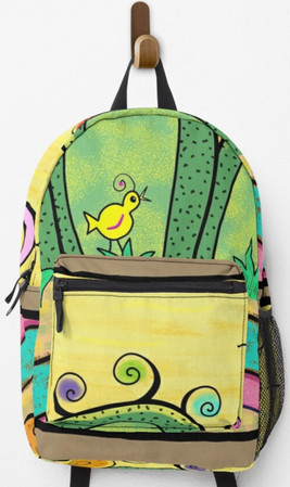 Blooming Ladies backpack