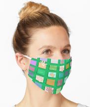 """Just Sayin' Hi Green"" mask"