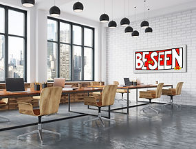 Be Seen conference table grey