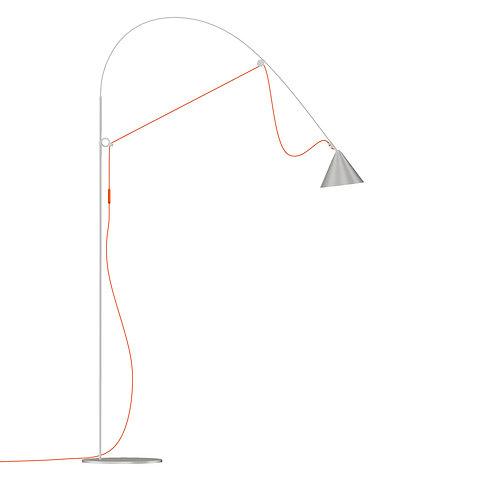 AYNO floorlamp – L | silk grey