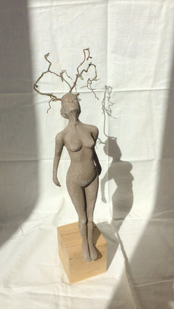 Femme cerf
