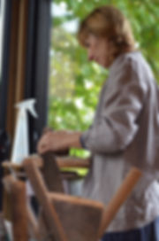 Karen Le Monnier dans son atelier