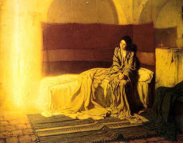 The Annunciation, a painting by Henry Ossawa Tanner in 1898