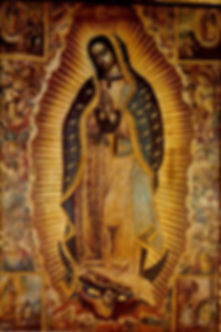 Baroque paintng of the Virgin Mary