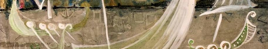 Viking Boat Minuet (detail)