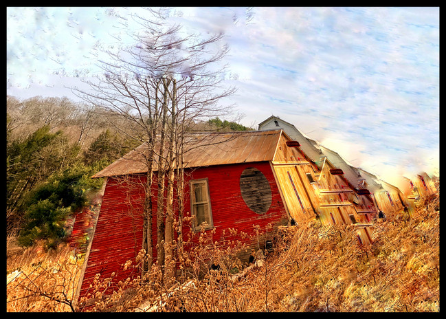 Texaco Circle Barn