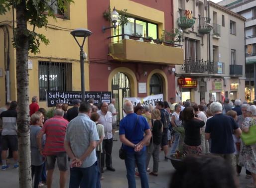 """L'Ajuntament tornarà a penjar la pancarta """"Llibertat presos polítics"""""""
