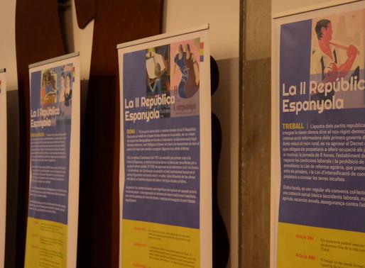 Conferència i inauguració de l'exposició República. Valors republicans, valors de futur