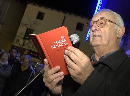 El Poema de Nadal de Josep M. De Sagarra es recita a Molins per la llibertat dels presos polítics