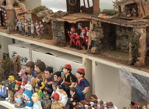 Molins de Rei celebra un  any més la seva Fira de Nadal per fomentar el comerç de proximitat.