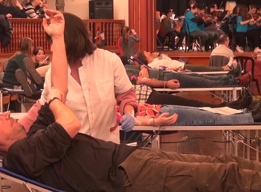 Marató de donació de sang per la Candelera més solidària