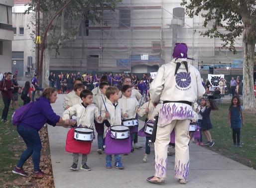 Els Dimonis de Molins de Rei organitzen la 4a Tabalada Solidària amb l'AFA Baix Llobregat