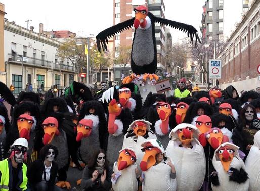 El Cuc es proclama guanyador de la Gran Rua del Carnaval molinenc