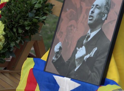 Homenatge a Lluís Companys en el 79è aniversari del seu afusellament