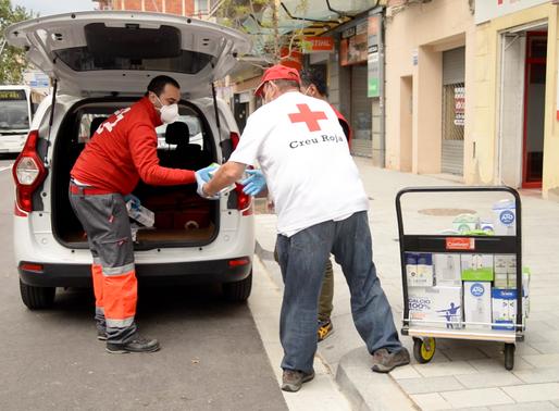 Creu Roja Respon, un projecte per ajudar als més vulnerables en aquesta crisi per la Covid19
