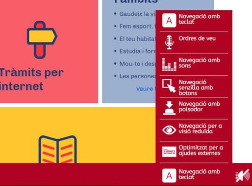 L'Ajuntament estrena un web 4.0 més inclusiu