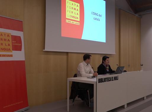 """Plataforma per la Llengua presenta """"Manual d'autoajuda per catalanoparlants"""""""