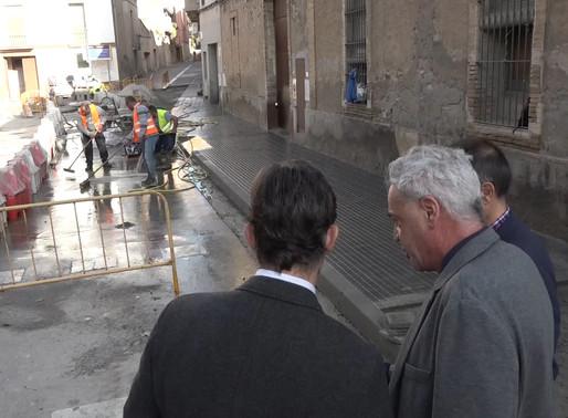 Les obres del carrer Samaranch finalitzaran per Nadal