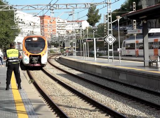 Les obres de millora de l'estació de Molins de Rei posen la data d'inici al tres de febrer