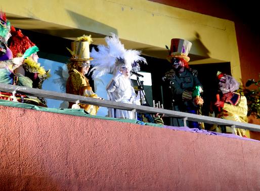 """Tret de sortida del Carnaval de Molins de Rei amb el pregó  i la fira """"Engreixa't"""""""