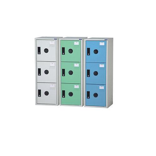 鑰匙置物櫃-小3格櫃W31D35H89cm