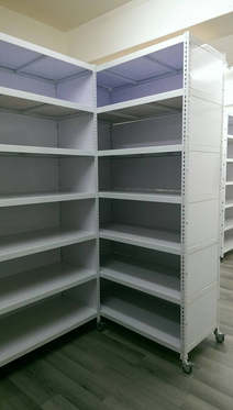 封板角鋼書櫃