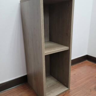 古典灰橡木,單排櫃