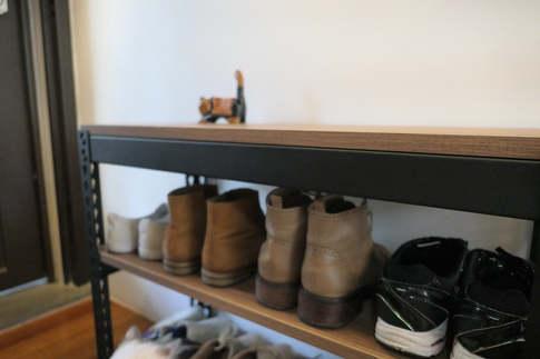 安寶角鋼鞋架 18mm跨放式木板