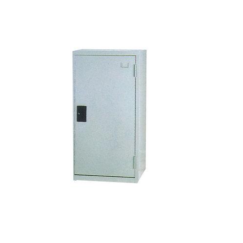 單門三層公文櫃工具櫃附鎖-W45xD40xH88cm