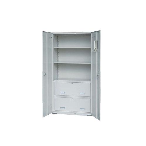 大公文櫃附2卷宗櫃2層板w90d45h180cm