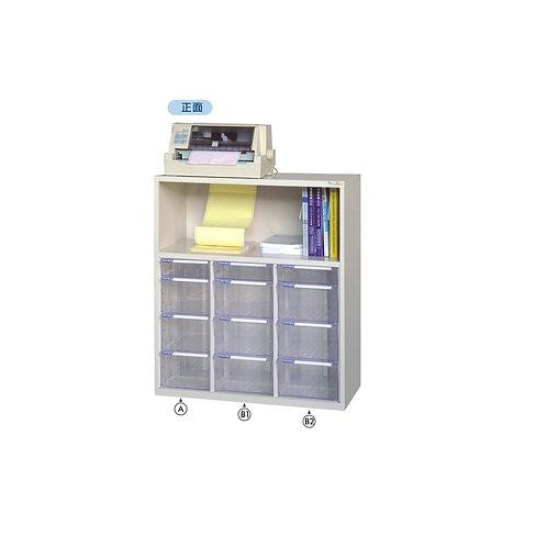 印表機櫃-附文件抽x12
