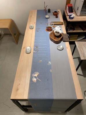 里斯本橡木-角鋼桌角鋼茶几訂做 -桌板跨放式18mm