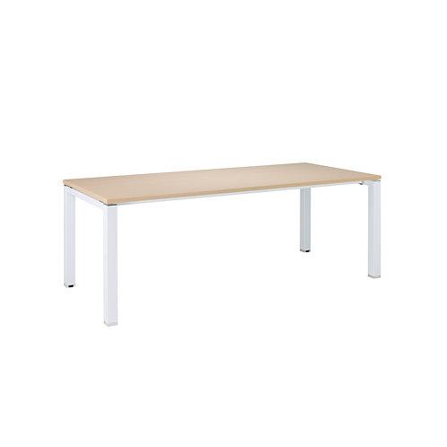 6-8人方管會議桌(大)220x110(桌板4色)