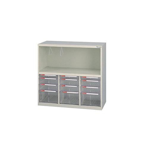矮櫃-下櫃附文件抽x12-W79.6xD33xH88cm