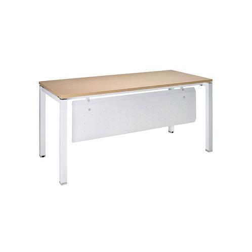 方管美耐桌160x70-含擋板(桌板4色)