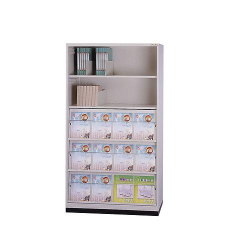 書報櫃-拉板x3