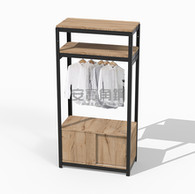衣櫃組:兩板+吊衣桿組+底櫃滑門櫃+封孔柱