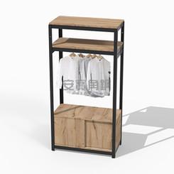 衣櫃上兩板+吊衣桿組x1+滑門底櫃x1