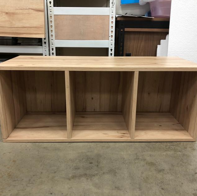 三排櫃尺寸W90D30H30 色號:里斯本橡木 系統自動估價