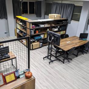 電腦桌/工作桌/工作室大改造