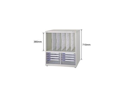 矮櫃-格板文件抽-W62.9xD40.2xH71cm