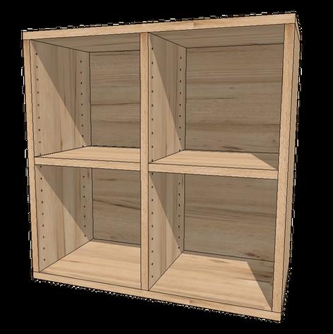 雙排櫃+2片活格