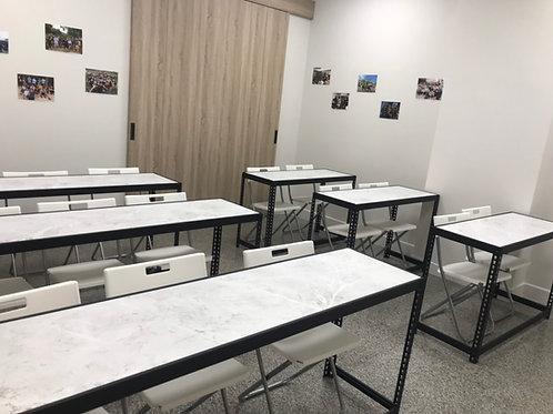 黑砂紋角鋼桌W180xD75xH75(8mm內嵌美芯板,尺寸可訂製、可選貼皮)