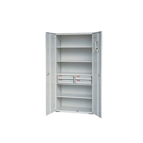 大公文櫃附4抽屜3層板w90d45h180cm
