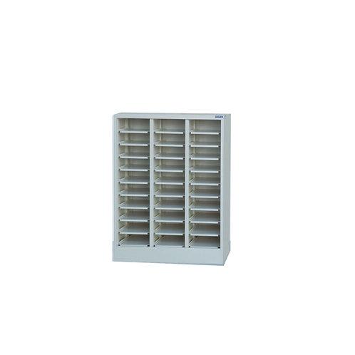 30格筆電櫃-開放式(可加裝鐵門)