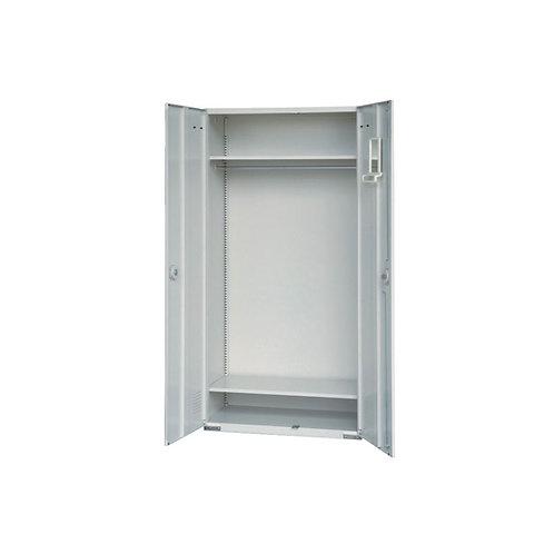 大公文櫃附2層板、吊衣桿w90d45h180cm