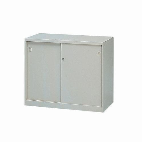 高74cm鋼製公文櫃(可選對開或拉門式)