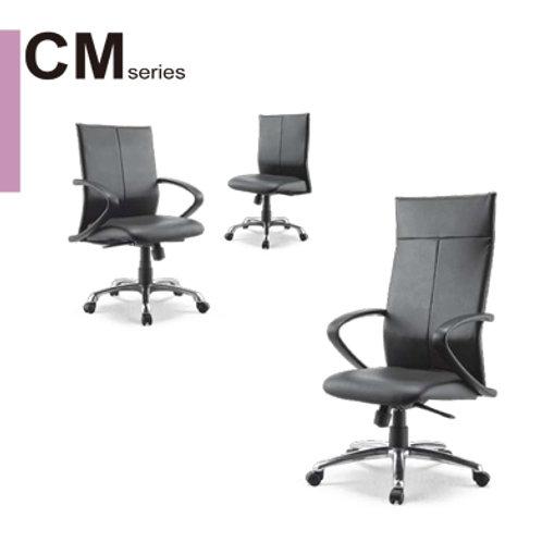 CM-高級透氣皮椅辦公椅