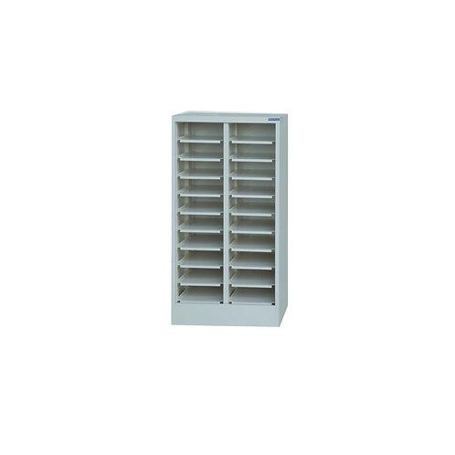 20格筆電櫃-開放式(可加裝鐵門)